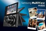 Samsung MultiView MV 800 - ultra-smukły aparat kompaktowy