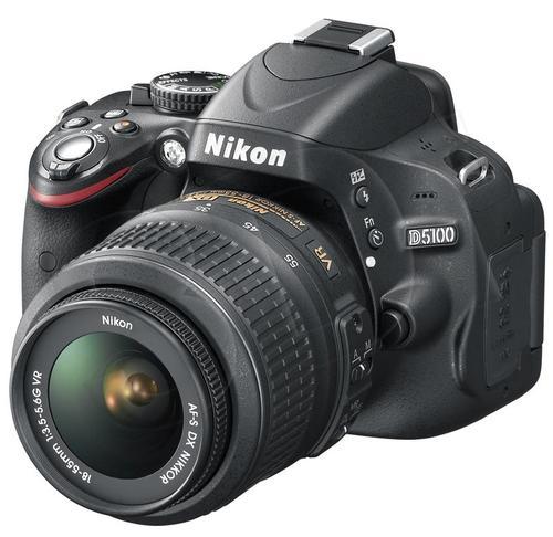 NIKON D5100 + 18-55VR