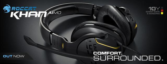 Słuchawki Khan AIMO posiadają ceniony certyfikat Hi-Res Audio.