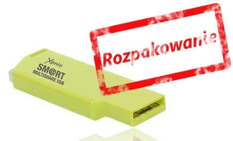 Xenic Smart Multishare USB - rozpakowanie
