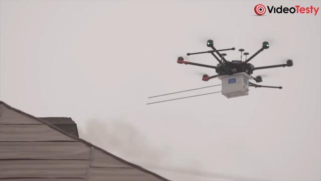 DRON NA SMOG