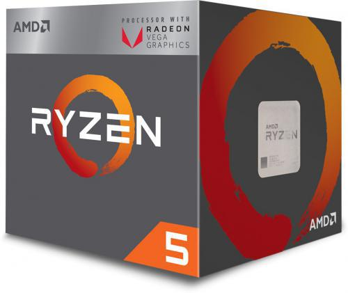 AMD Ryzen 5 2400G YD2400C5FBBOX ( 3600 MHz (min) ; 3900 MHz (max) ; AM4 ; BOX )