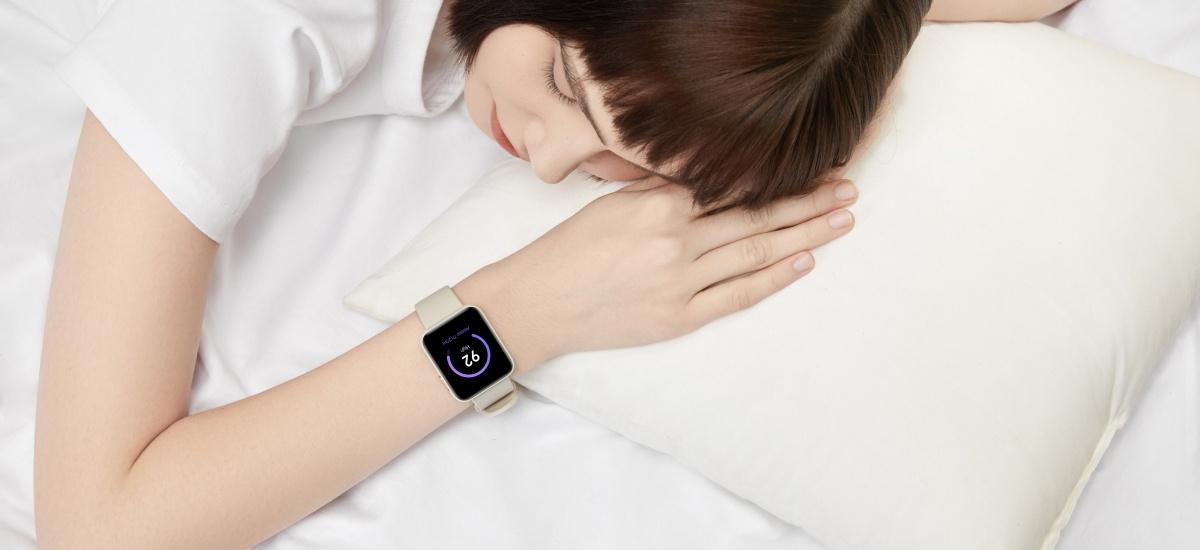 Xiaomi Mi Watch Lite zmierzy jakość snu