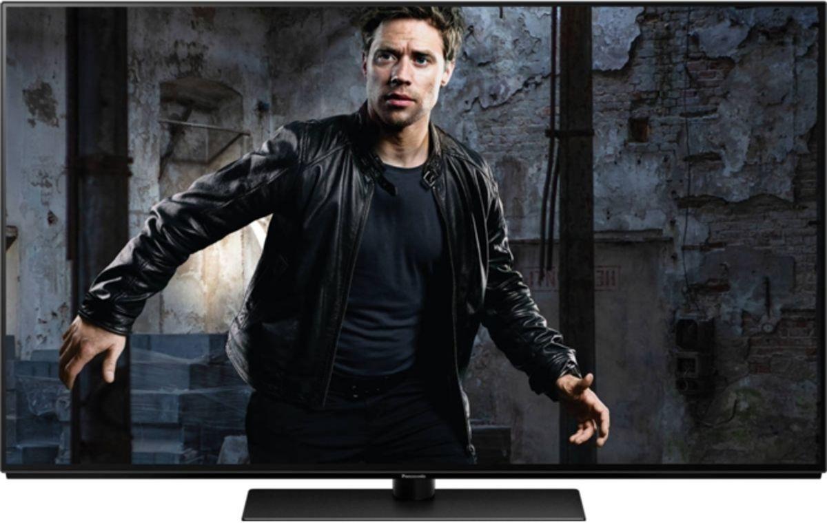 Grafika przedstawiająca telewizor marki Panasonic