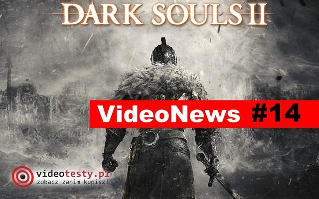 VideoNews #14 - Premiera Dark Souls II oraz konsoli do gry Playstation Vita Slim