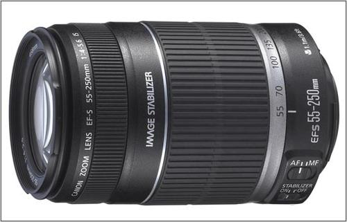 Canon EF-S 55-250MM 4.0-5.6 IS 2044B005