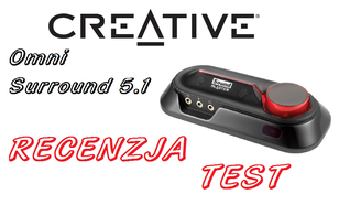 Sound Blaster Omni Surround 5.1 - Konkretna Zewnętrzna Karta Dźwiękowa od Creative
