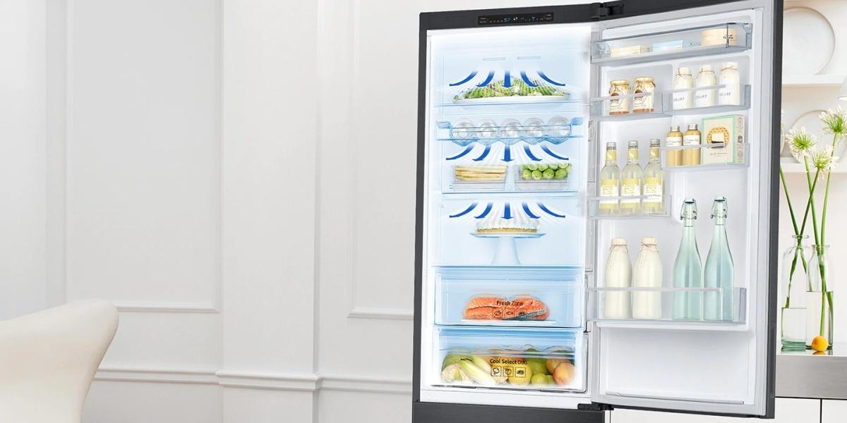 Lodówka Samsung RB37J502VB1 oferuje dynamiczny system chłodzenia