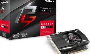 ASRock Phantom Gaming Radeon RX550 2G, 2GB, 1100 MHz, 6Gbps, DVI, DP,
