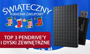 TOP 3 Pendrive'ów i Dysków Zewnętrznych na Świąteczny Prezent!