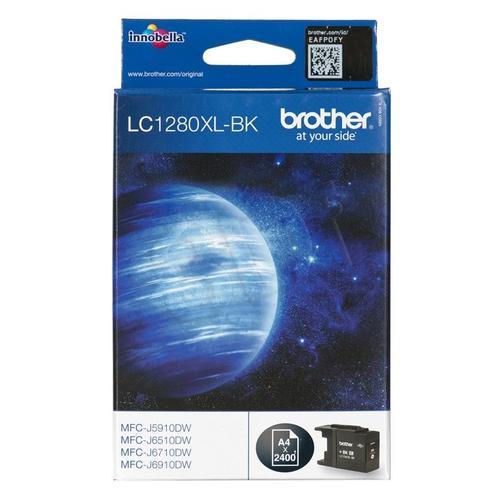 BROTHER Tusz Czarny LC1280XLBK=LC-1280XLBK, 2400 str.