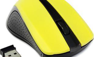Gembird bezprzewodowa optyczna USB (MUSW-101-Y) Yellow