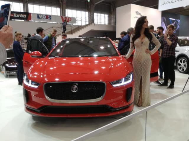 Jaguar I-pace podczas prezentacji