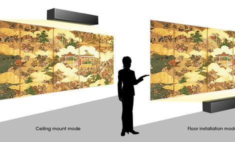 Sony VPL-GTZ1 - wysokiej jakości obraz z niewielkiej odległości