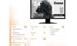 iiyama G-MASTER Black Hawk GE2488HS-B2