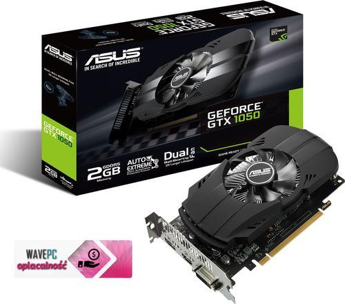 Asus GTX 1050 2GB GDDR5 (128 Bit) DVI, HDMI, DP, BOX (PH-GTX1050-2G)