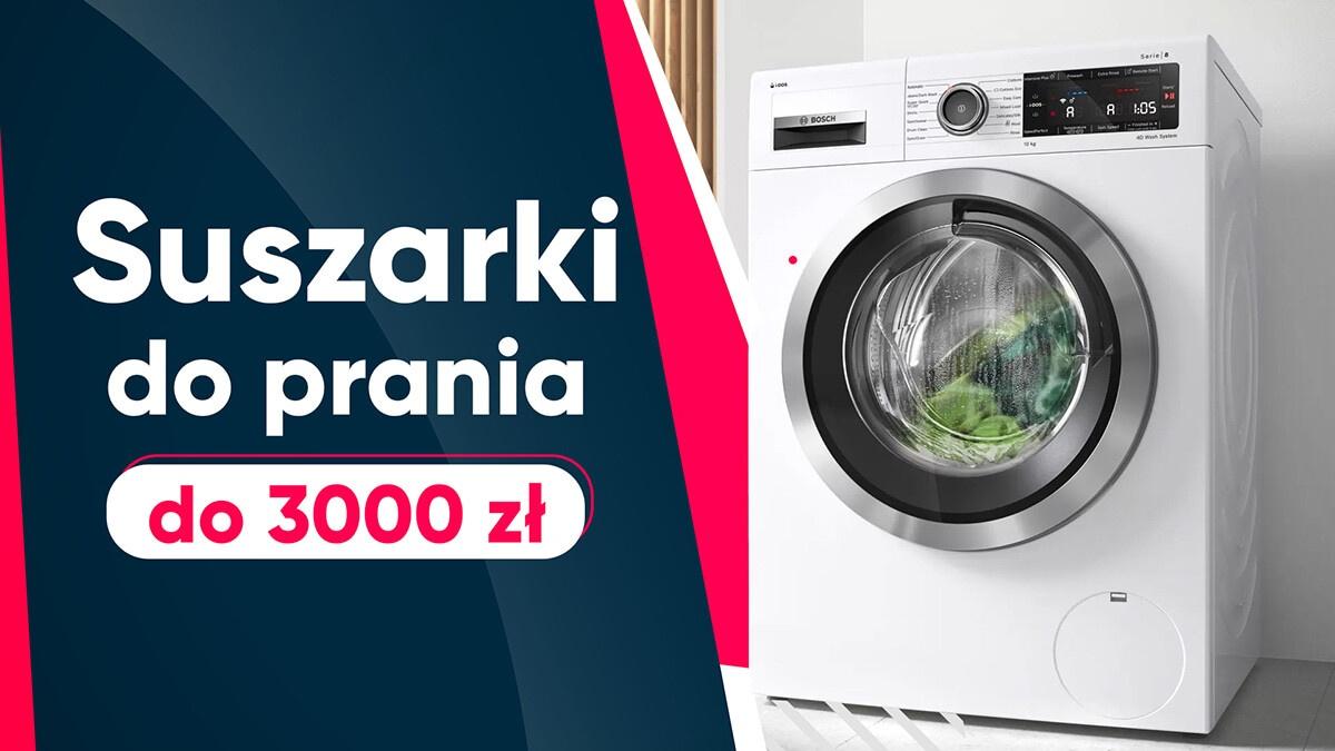 Jaka suszarka do prania do 3000 zł? |TOP 10|