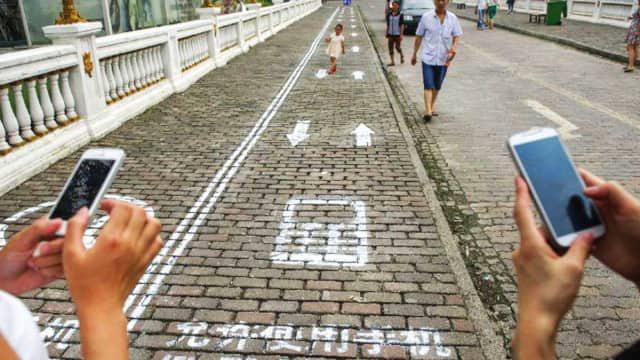 To nie pierwsza taka ścieżka w Chinach