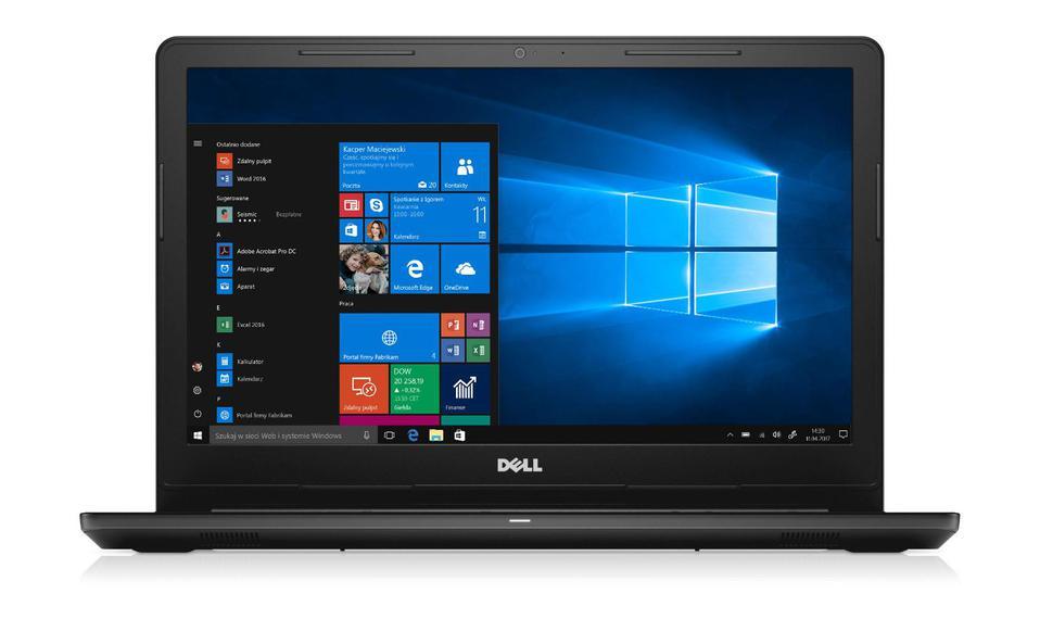 DELL 3567 15,6 i3-6006U 8GB 120 HD520 W10 black [00