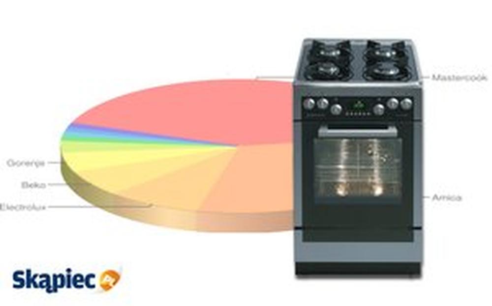 Ranking kuchenek gazowych i elektrycznych - grudzień 2011