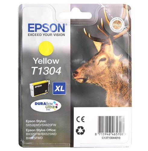 EPSON Tusz Żółty T1304=C13T13044010, 10.1 ml