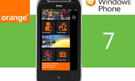 HTC 7 Mozart - pierwszy telefon z Windows Phone 7 już w Orange