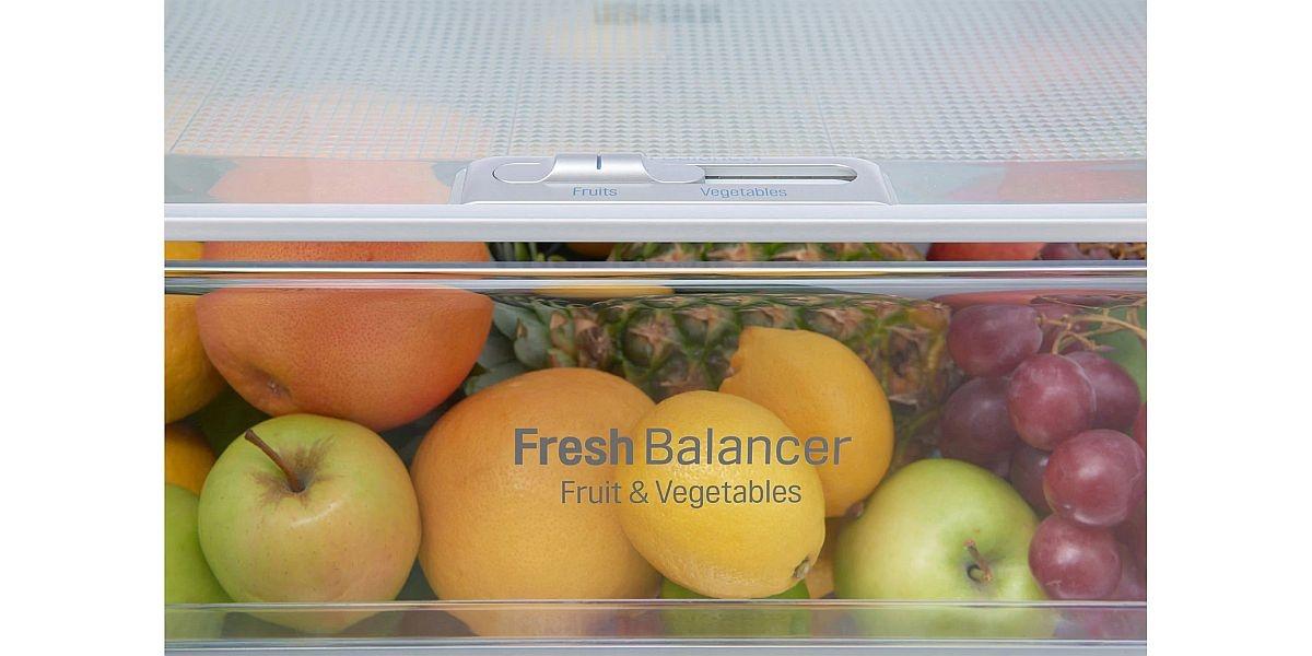 szuflada lodówki do przechowywania żywności