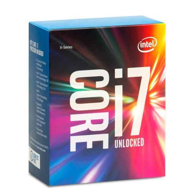 Procesora Intel i7-6800k