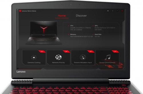Lenovo Legion Y520 i5-7300HQ 8GB 1TB GTX-4GB Win10