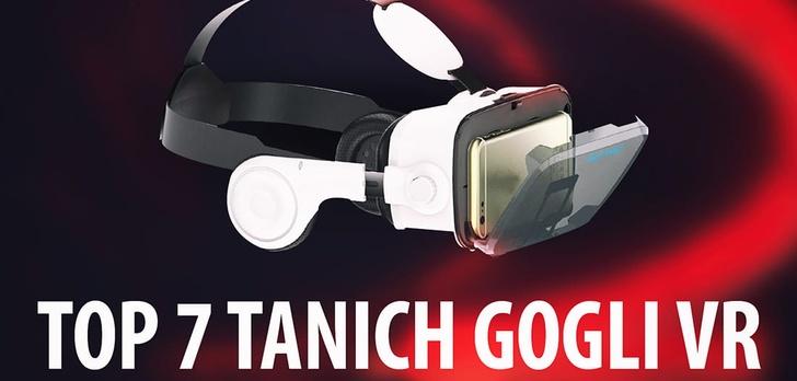 TOP 7 Tanich gogli VR – Okulary VR do smartfonów