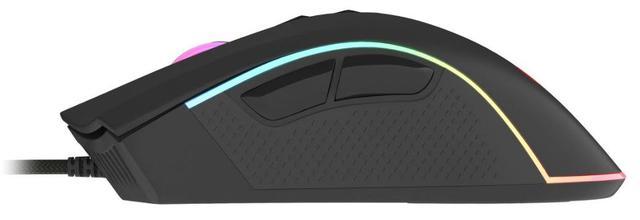 Myszka zapewnia znakomity sensor optyczny.