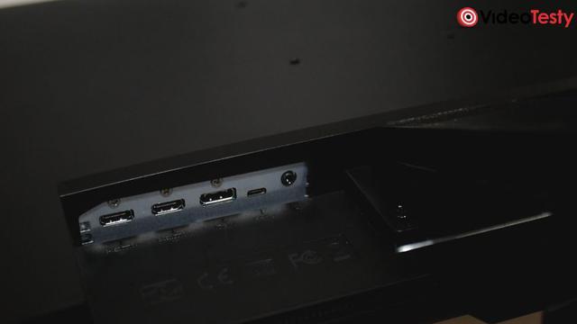 BenQ EW3270U i EL2870U porty