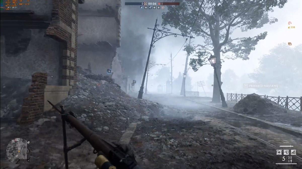 Battlefield na komputerze Actiny w 4K na ultra