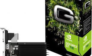 Gainward GeForce GT 710 1GB DDR3 (64 bit) DVI, HDMI, VGA, Retail (426018336-3583)