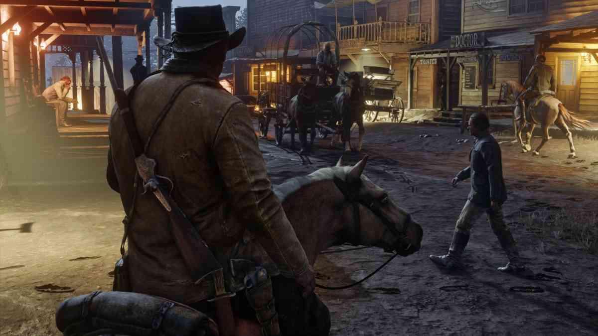 Red Dead Redemption 2 - Miasteczko