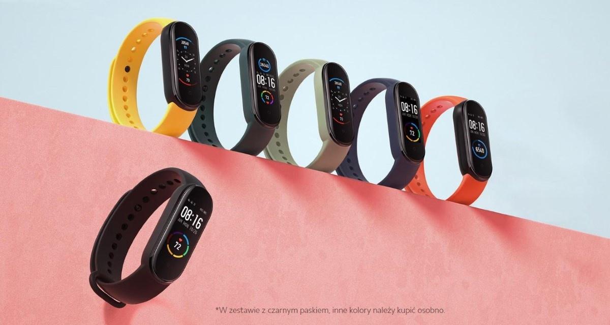Wszystkie kolory  Xiaomi Mi Band 5