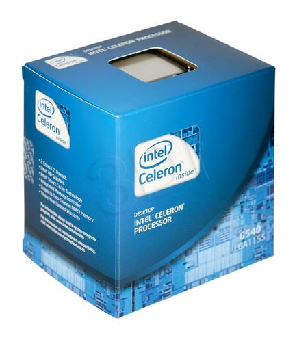 DUAL CORE G540 2.5GHz LGA1155 BOX