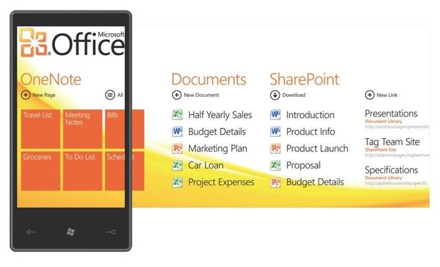 Microsoft Office Windows Phone 7