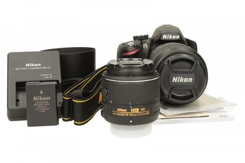 Nikon D3200 + 18-55 VRII + 55 -300 VR