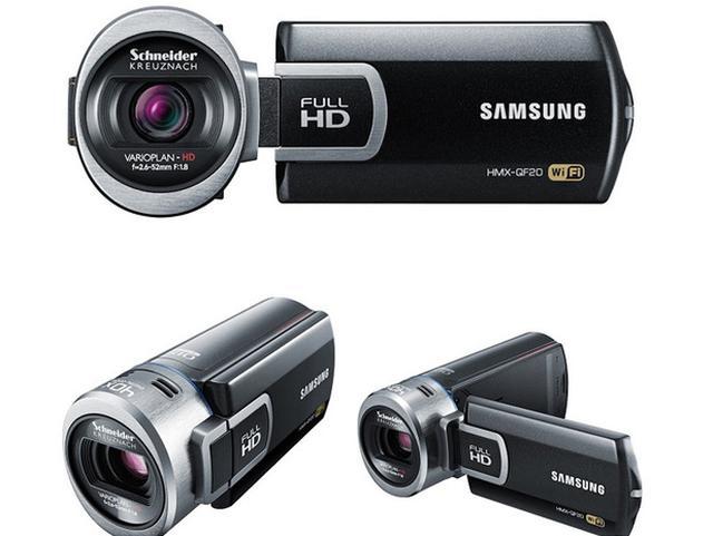 Samsung QF20 – Kręć w FullHD, udostępniaj przez Wi-Fi