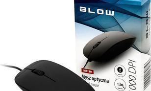 Blow przewodowa optyczna MP-30 1000dpi czarna