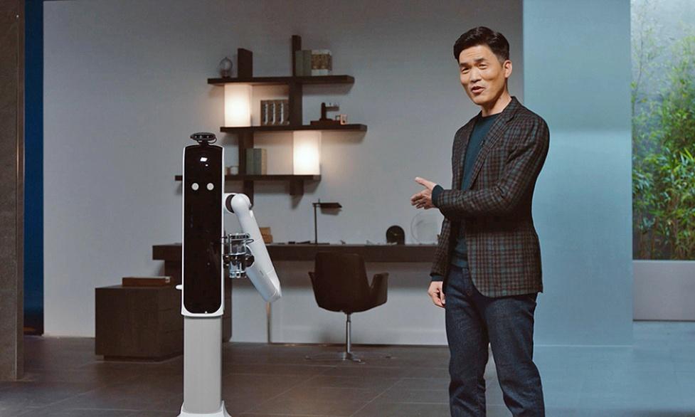 Roboty Samsunga naleją nam drinka i zachęcą do spaceru