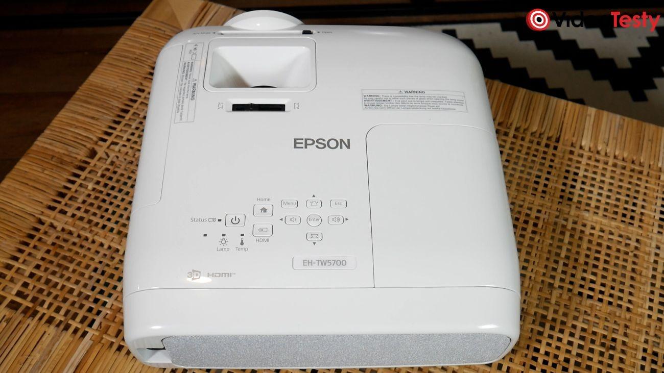 Epson EH-TW5700 widok od góry