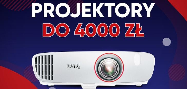 Jaki projektor do 4000 złotych?  TOP 5 