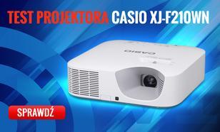 Casio XJ-F210WN - Recenzja Bezlampowego Projektora DLP