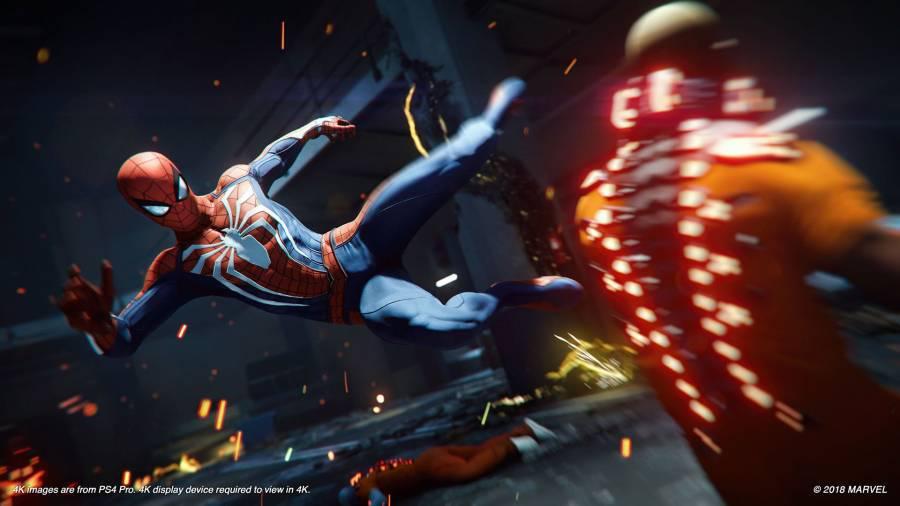 Gra Spider-Man - PS4