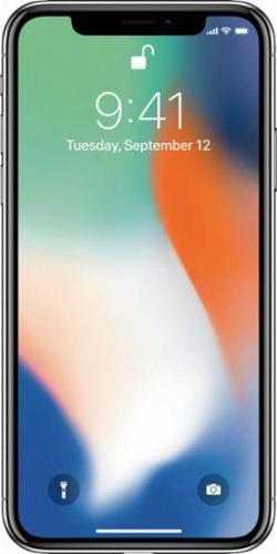 Apple iPhoneX 64GB Srebrny (MQAD2)
