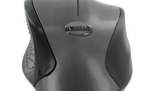 4World Mysz optyczna Ergo1 USB/PS2 czarno-grafitowa