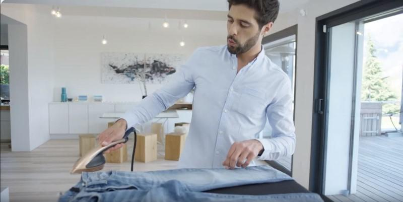Tefal IXEO dzięki parze wyprostuje każde ubranie