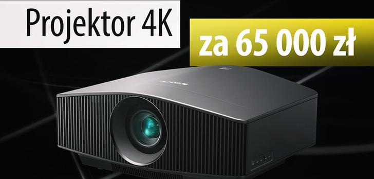 Recenzja SONY VPL-VW760 - Projektor 4K za 65 000 zł!